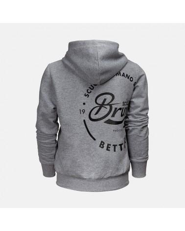 Felpa Zip Cappuccio Estiva - Bettini